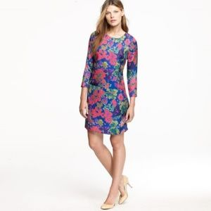 J. Crew Jules Ashbury Floral Pocket Dress Size 6